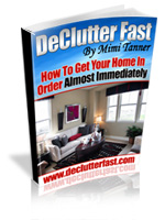 Declutter Fast by Mimi Tanner